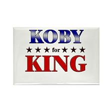 KOBY for king Rectangle Magnet