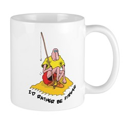 Fishing Coffee Cup 11oz