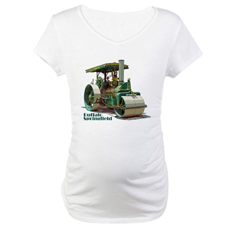 The steamroller Maternity T-Shirt