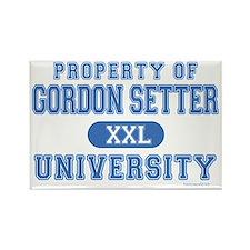 Gordon Setter U. Rectangle Magnet (100 pack)