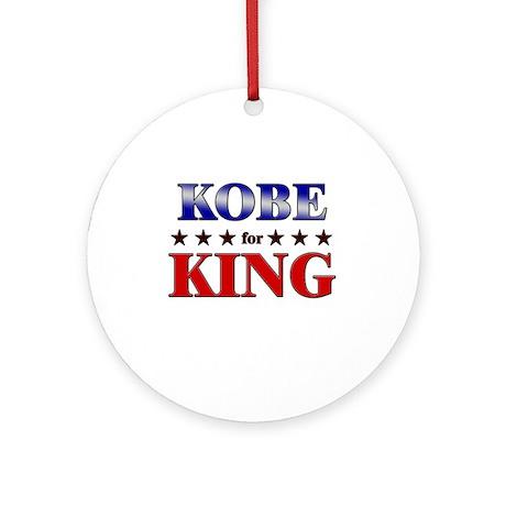 KOBE for king Ornament (Round)