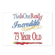 Incredible At 73 Postcards (Package of 8)