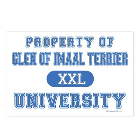 Glen of Imaal Terrier U. Postcards (Package of 8)