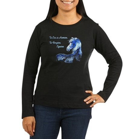 6-5-4-3-lost in thought image Long Sleeve T-Shirt