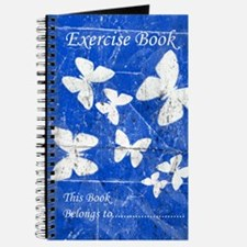 Exercise Book: Blue Butterfly Journal