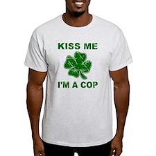 Kiss Me, I'm a Cop T-Shirt