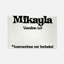 Mikayla - Version 1.0 Rectangle Magnet