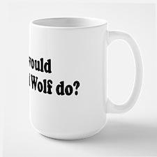 Big Bad Wolf Large Mug