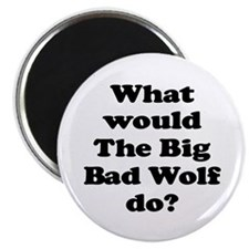 Big Bad Wolf Magnet