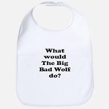 Big Bad Wolf Bib