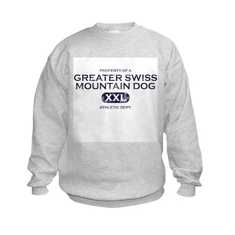 Property of Greater Swiss Kids Sweatshirt