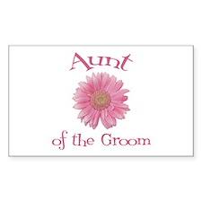 Daisy Groom's Aunt Rectangle Decal