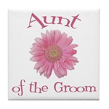 Daisy Groom's Aunt Tile Coaster