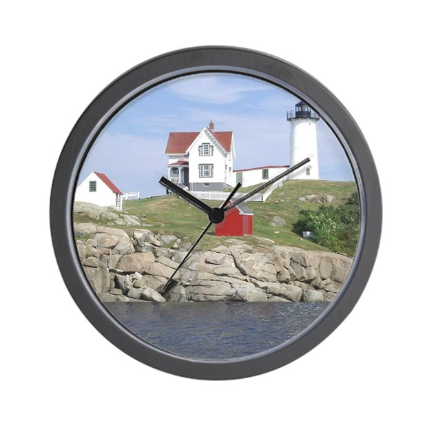 Lighthouse Wall Clock By Foreveryoursart