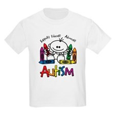 Autism Crayons T-Shirt