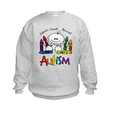 Autism Crayons Sweatshirt