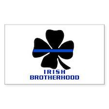Irish Brotherhood Rectangle Decal
