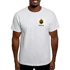 Farva Gear Ash Grey T-Shirt