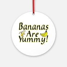 Bananas Ornament (Round)