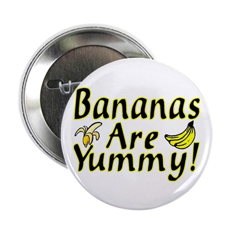 """Bananas 2.25"""" Button (100 pack)"""