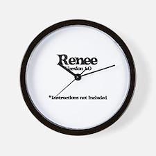 Renee - Version 1.0 Wall Clock