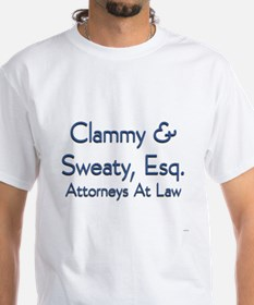 Clammy & Sweaty. Esq. T-Shirt