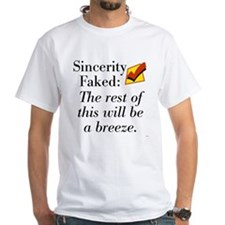 Sincerity Faked: Check