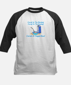 Cereal All The Time Kids Baseball Jersey