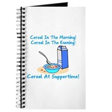 Cereal All The Time Journal