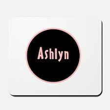 Ashlyn - Pink Circle Mousepad