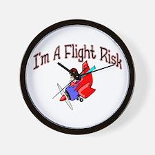 Flight Risk Wall Clock