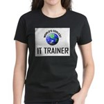 World's Coolest IT TRAINER Women's Dark T-Shirt