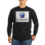 World's Coolest IT TRAINER Long Sleeve Dark T-Shir