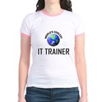 World's Coolest IT TRAINER Jr. Ringer T-Shirt