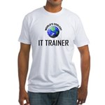 World's Coolest IT TRAINER Fitted T-Shirt