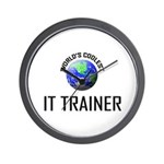 World's Coolest IT TRAINER Wall Clock