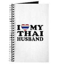 I Love My Thai Husband Journal