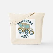 Grandpas Best w/ Classic Car Tote Bag