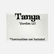 Tanya - Version 1.0 Rectangle Magnet