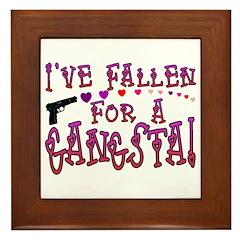 Gangsta Love Framed Tile