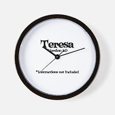 Teresa - Version 1.0 Wall Clock