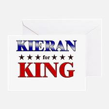 KIERAN for king Greeting Card