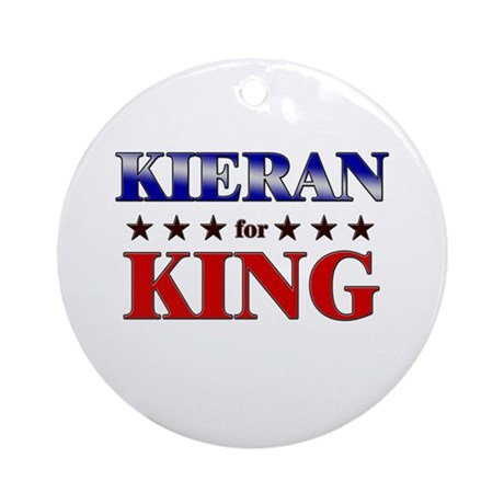 KIERAN for king Ornament (Round)