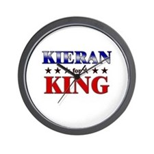 KIERAN for king Wall Clock