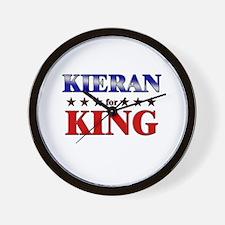 KIERAN for king Wall Clock