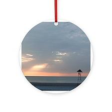 Sunset Ornament (Round)