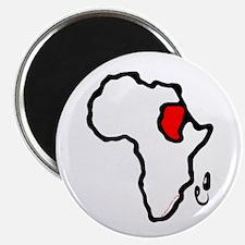 Heart of Africa- Sudan Magnet