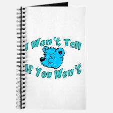 I Won't Tell Journal