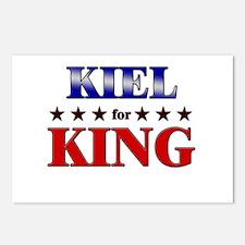 KIEL for king Postcards (Package of 8)