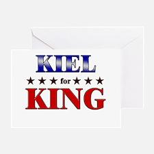 KIEL for king Greeting Card
